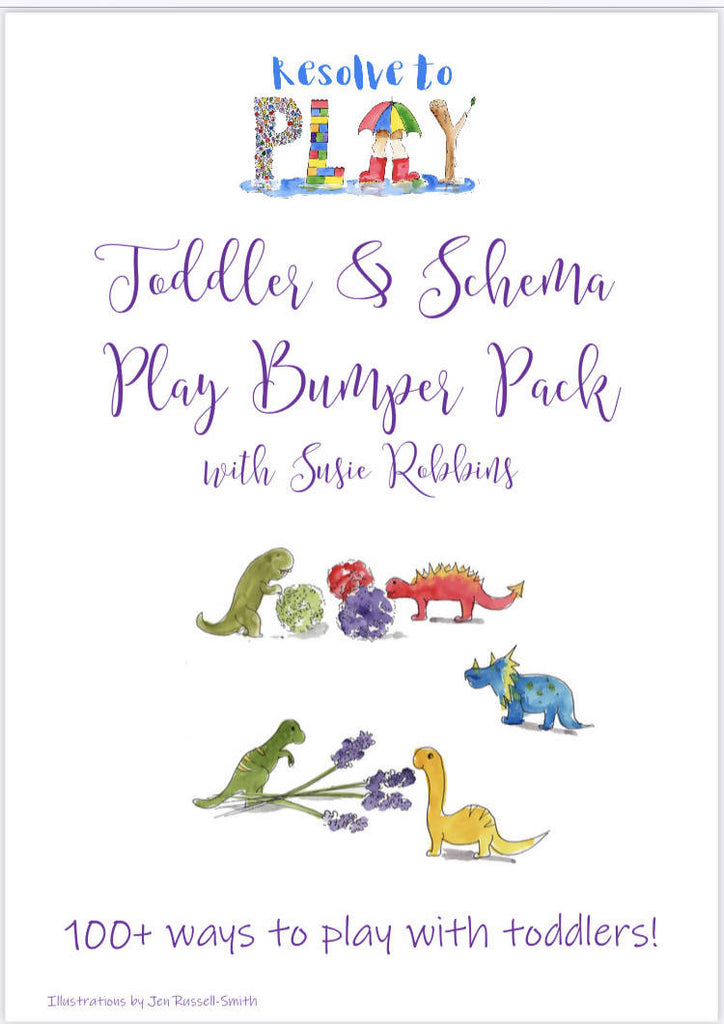 Toddler and Schema Bumper Pack