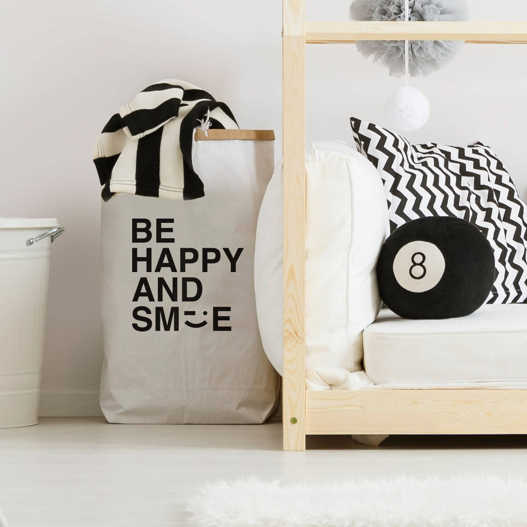 Be Happy And Smile toy sack