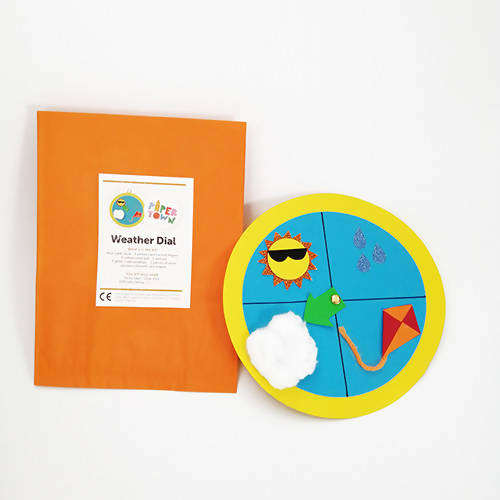 Weather Dial Children's Craft Kit