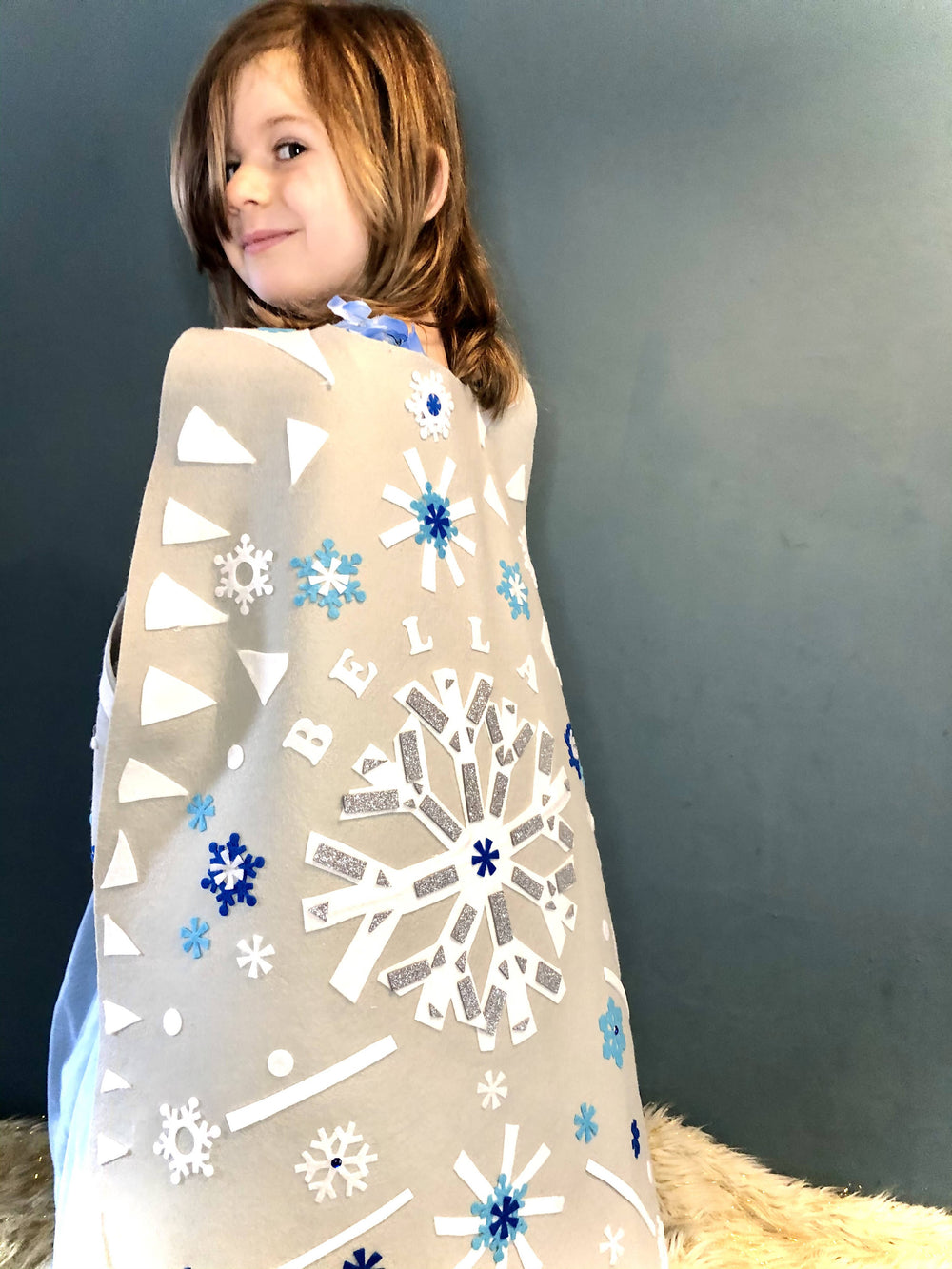 Snow Queen Cape Kids Craft Kit