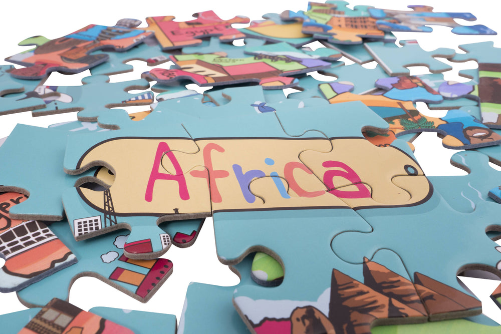 Africa (32 piece) map jigsaw puzzle
