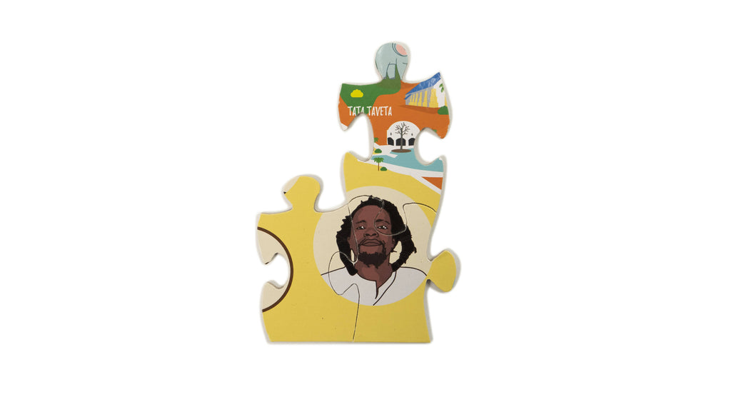 Kenya map jigsaw puzzle