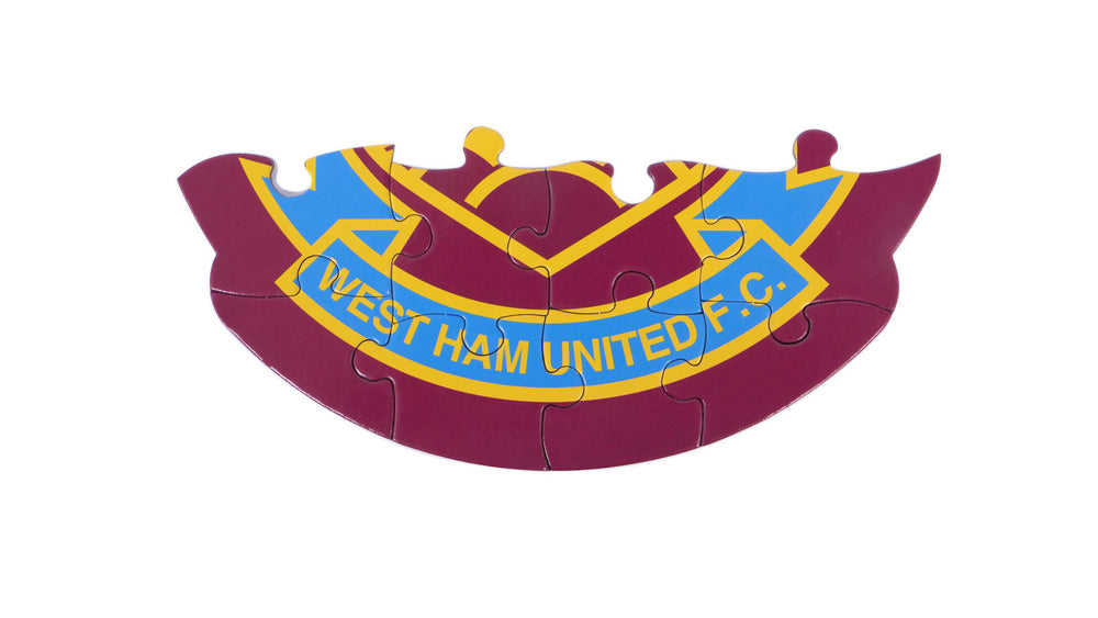 West Ham United crest colour-in jigsaw puzzle