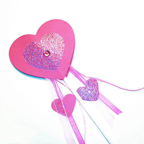 Heart Wand Children's Craft Kit
