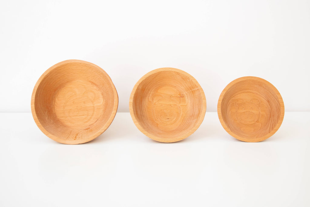 The Three Bears Porridge Bowls Set