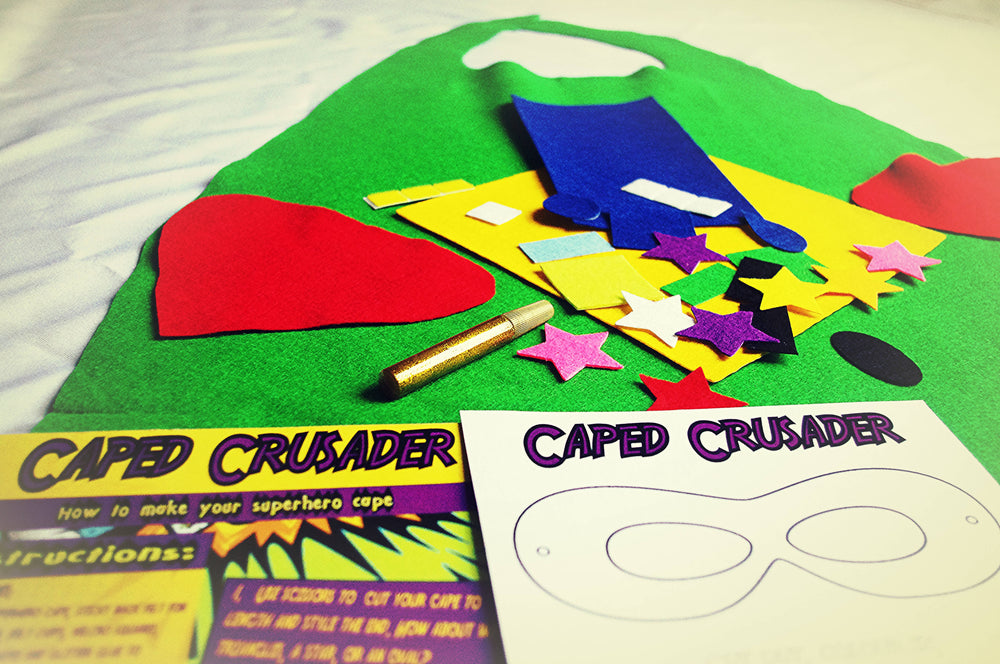Caped Crusader Superhero Craft Kit