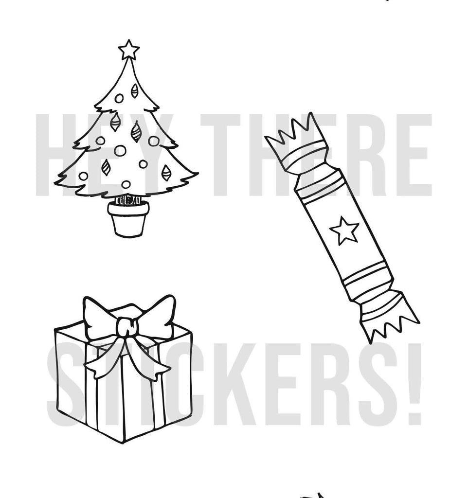 Christmas Colouring Printable Download