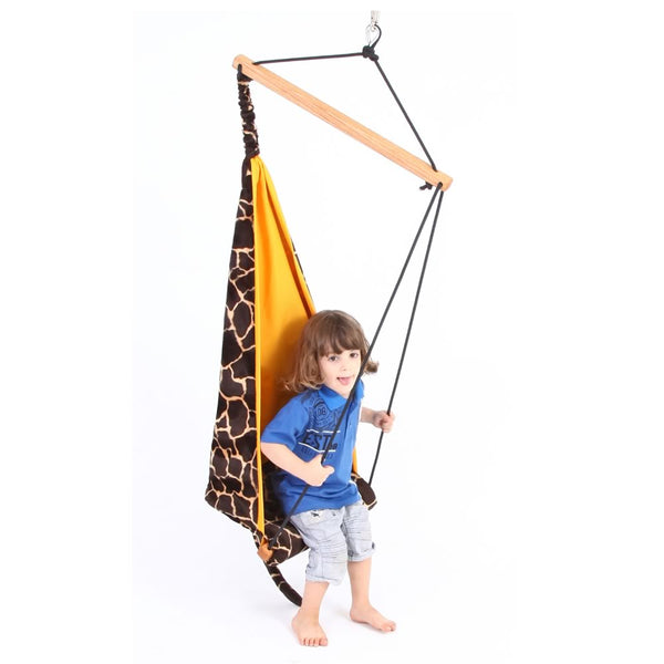 Kid's Mini Giraffe Hanging Chair