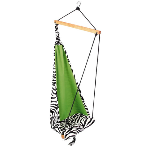 Kid's Mini Zebra Hanging Chair