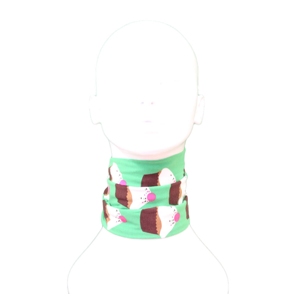Green Cute Cupcakes Cotton Funky Giraffe Scood