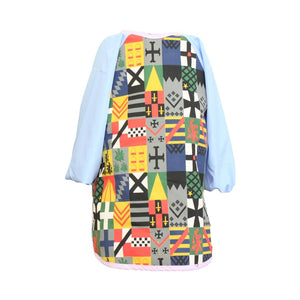 Boys Pale Blue Knight Messy Apron