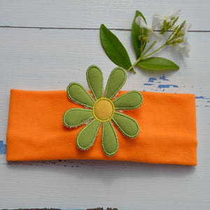 Funky Green Flower Hairband