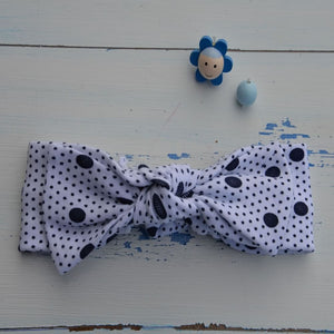 Spotty Dotty Rabbit Ear Hairband