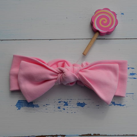 Light Pink Rabbit Ear Hairband