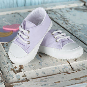 Soft Lilac Pumps