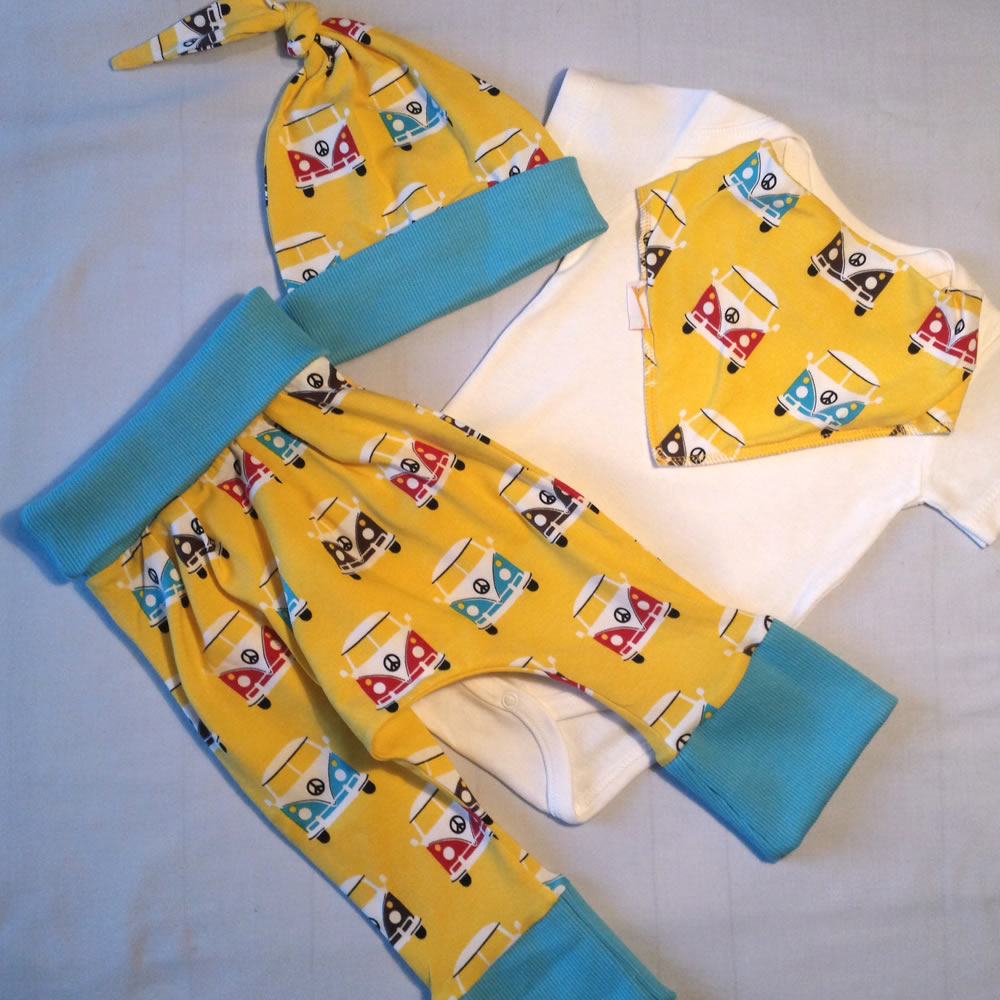 Funky Camper Vans Outfit (6-12 Months)