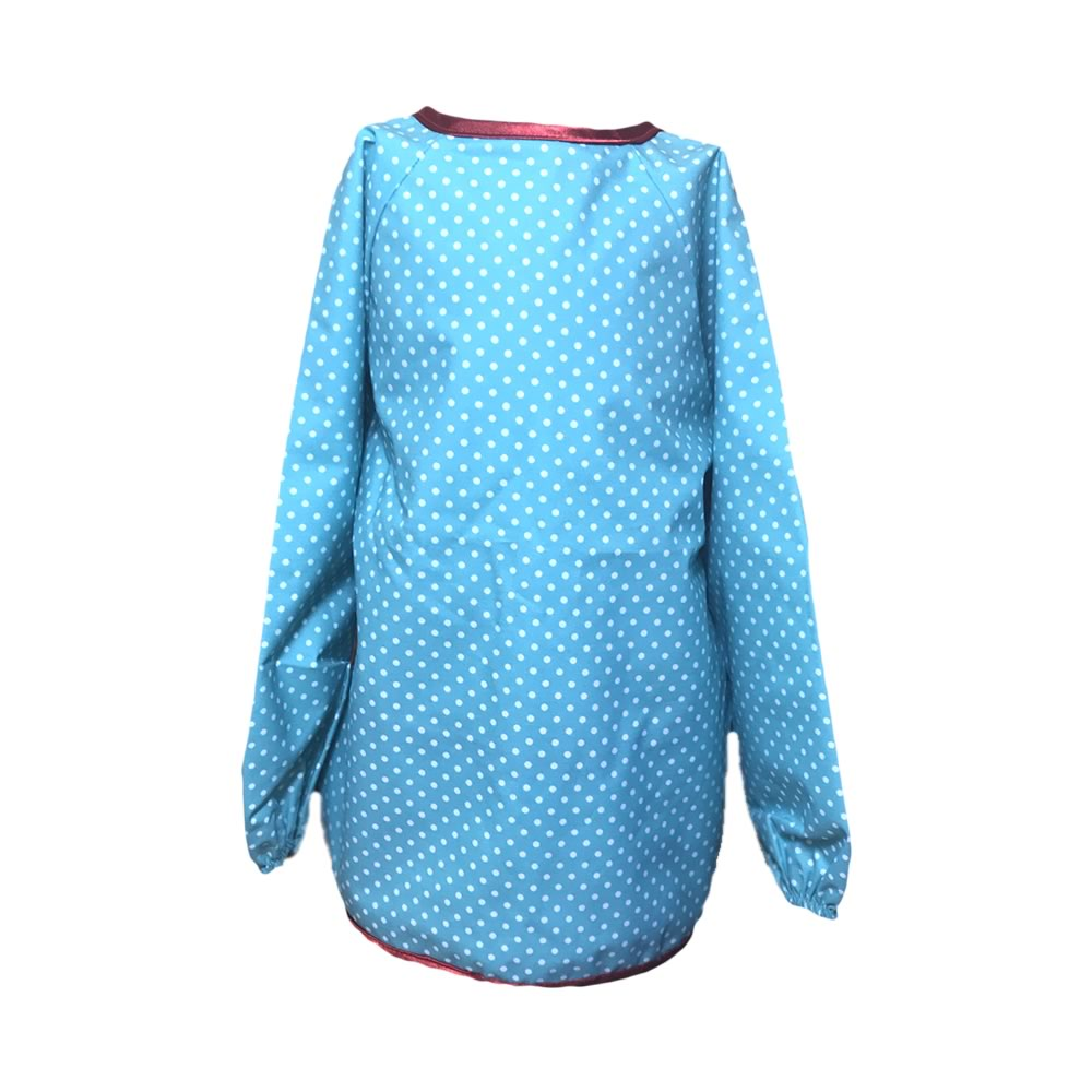 Blue Spotty Apron