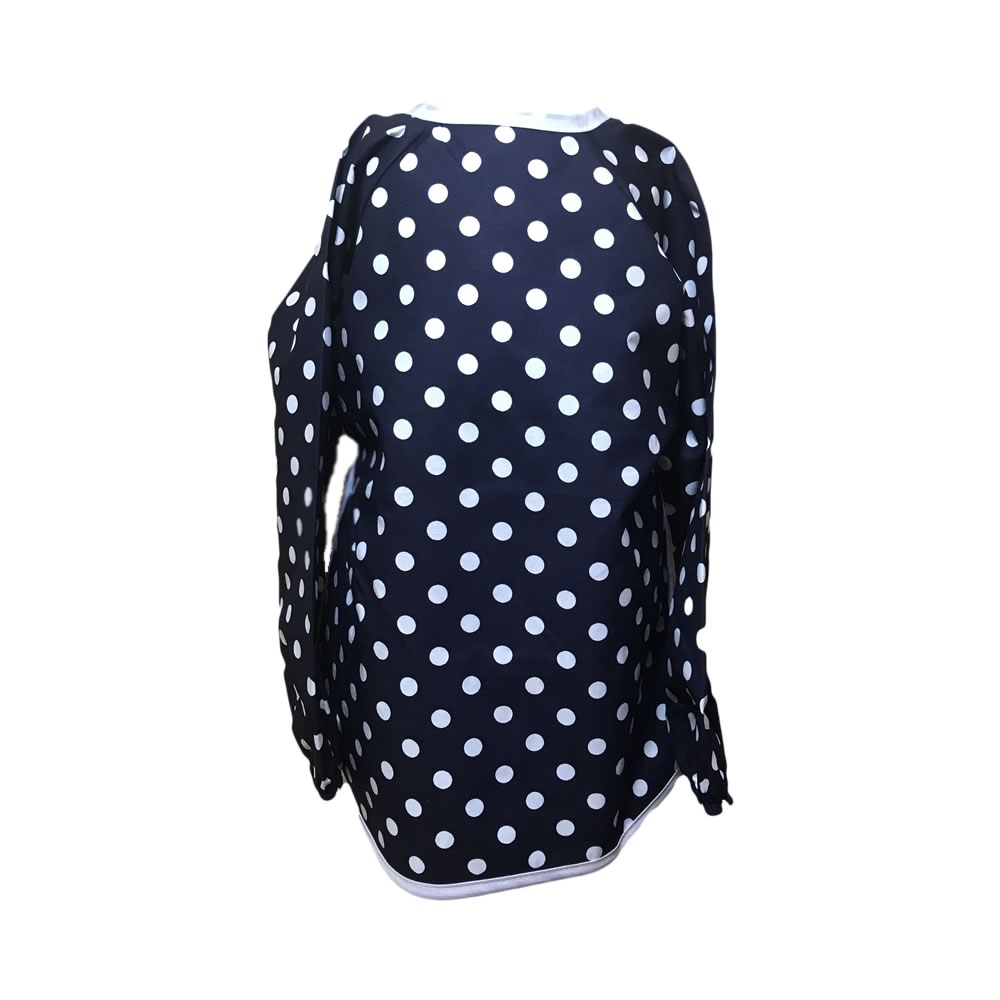 Navy Spotty Apron