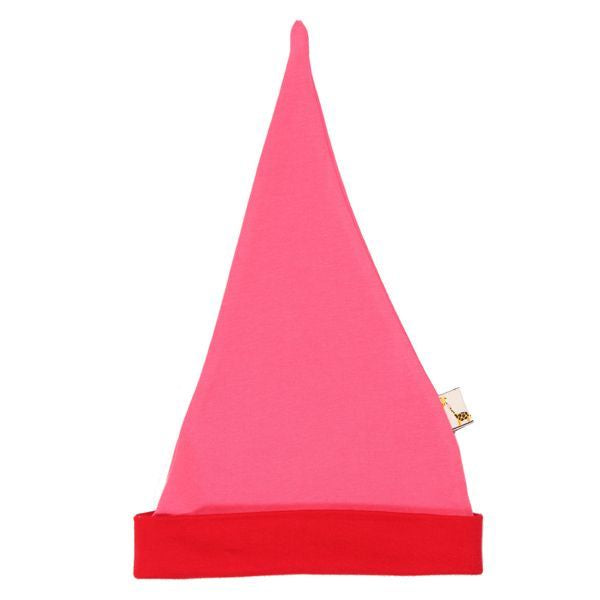 Pink & Red Pointy Hat