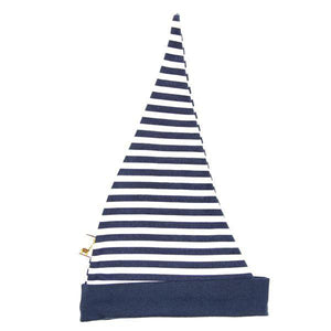 Blue Striped Pointy Hat