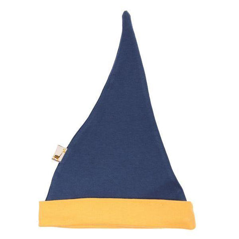 Blue & Yellow Pointy Hat