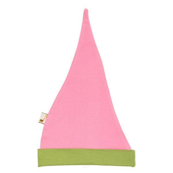 Pink & Green Pointy Hat