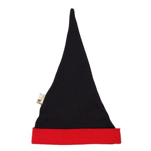 Black & Red Pointy Hat