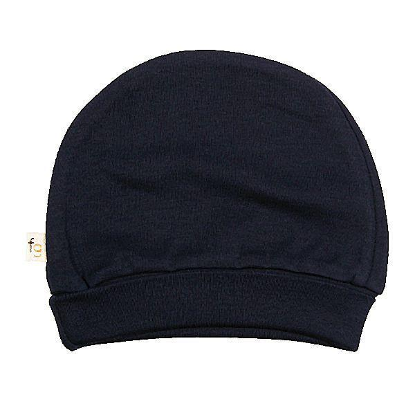 Navy Blue Plain Round Hat