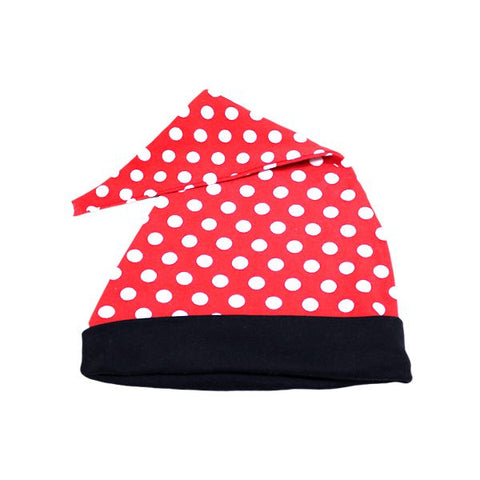 Red & White Spots Pointy Hat