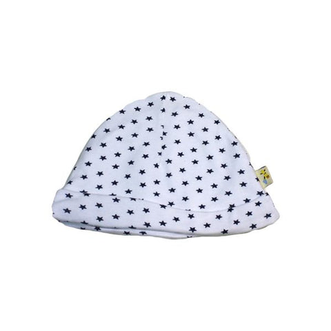 Small Navy Stars Round Hat