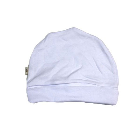 Plain White Round Hat