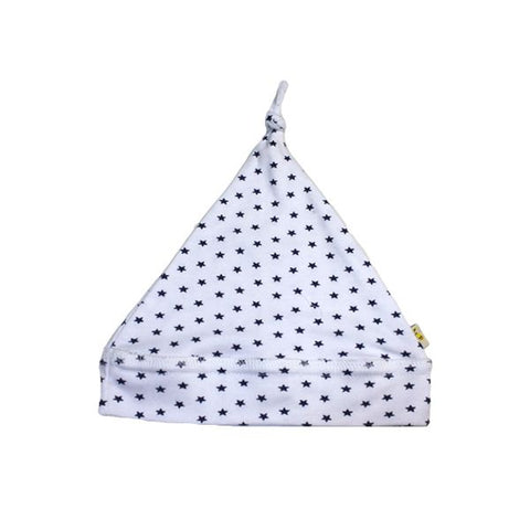 Small Navy Stars Pointy Hat