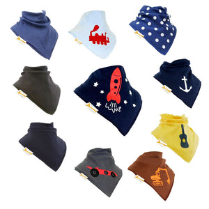 On The Move Funky Giraffe Bandana Bibs (Set of 10)