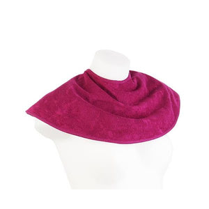 Crimson 2 in 1 Bamboo Fabric Bib and Burp Cloth