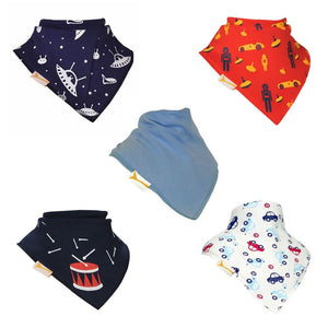 The Toys Collection Funky Giraffe Bandana Bibs (Set of 5)