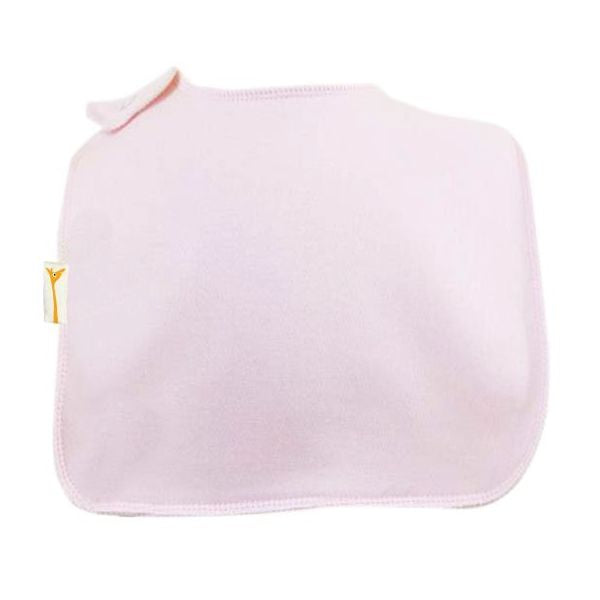 Light Pink Plain Square Bib