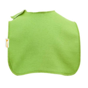 Lime Green Plain Square Bib
