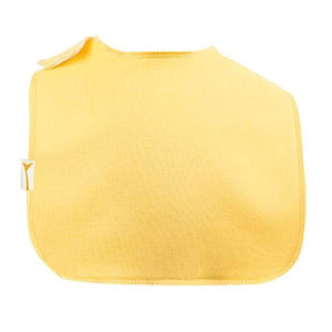 Yellow Plain Square Bib
