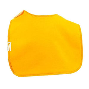 Orange Plain Square Bib