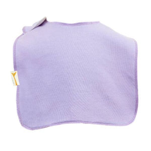 Lilac Plain Square Bib