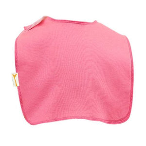 Pink Plain Square Bib