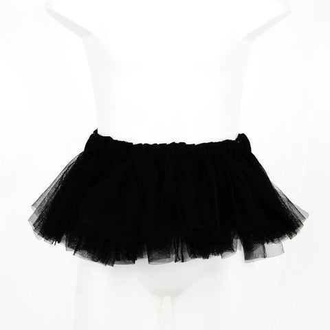 Plain Black Rascal Heart Tutu