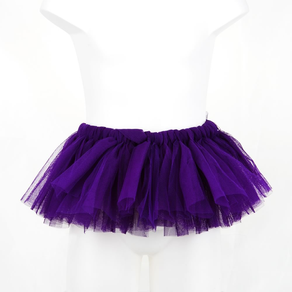 Plain Purple Rascal Heart Tutu