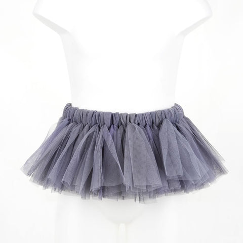 Plain Grey Rascal Heart Tutu