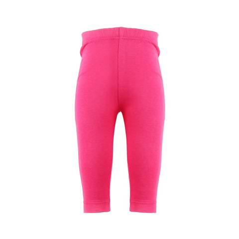 Plain Pink Rascal Heart Leggings
