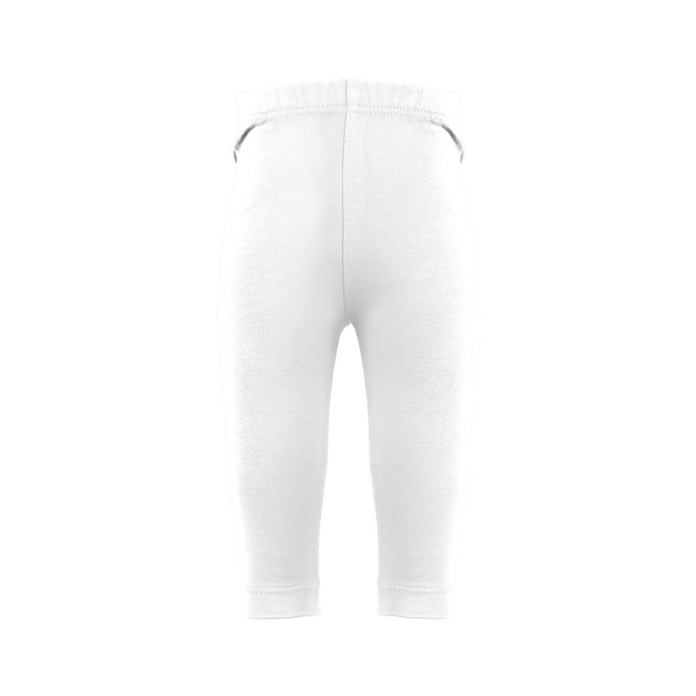 Plain White Rascal Heart Leggings