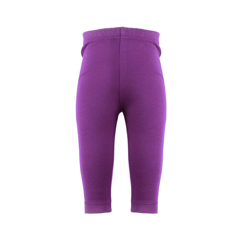 Plain Purple Rascal Heart Leggings