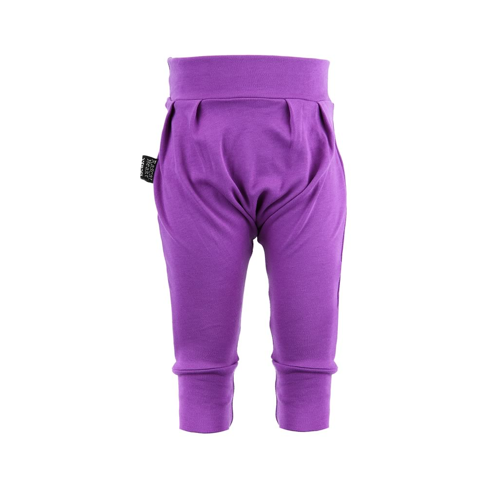Plain Purple Rascal Heart Pantaloons