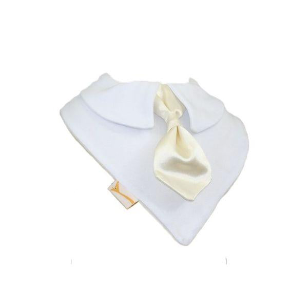 Ivory Smart Little Tie Special Occasions Bib