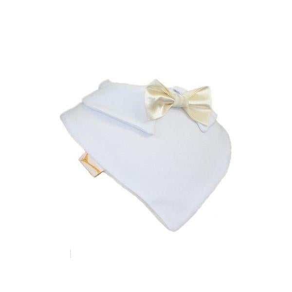 Ivory Smart Little Bow Tie Special Occasions Bib